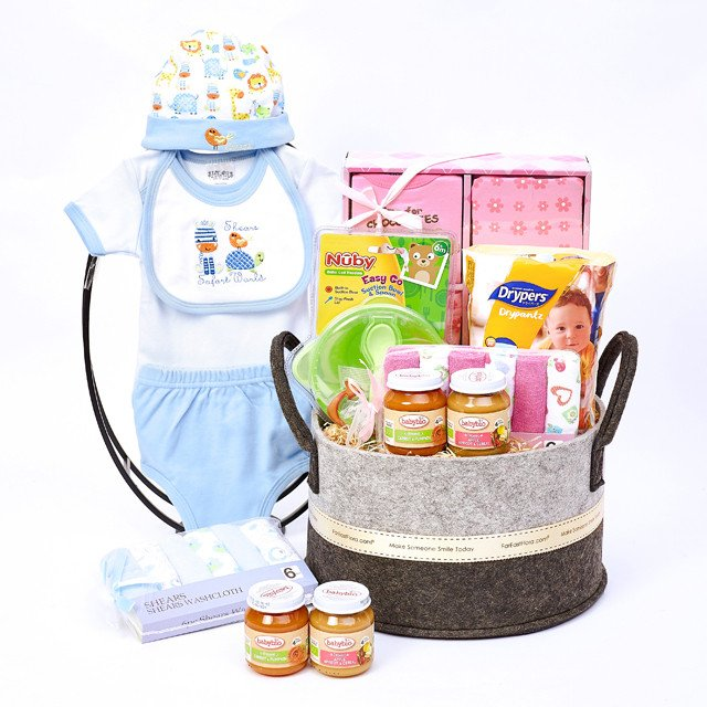 Baby Needs All-In-One Hamper