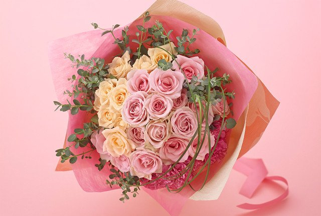 JAP001 Pink Rose Bouquet (JGH151)