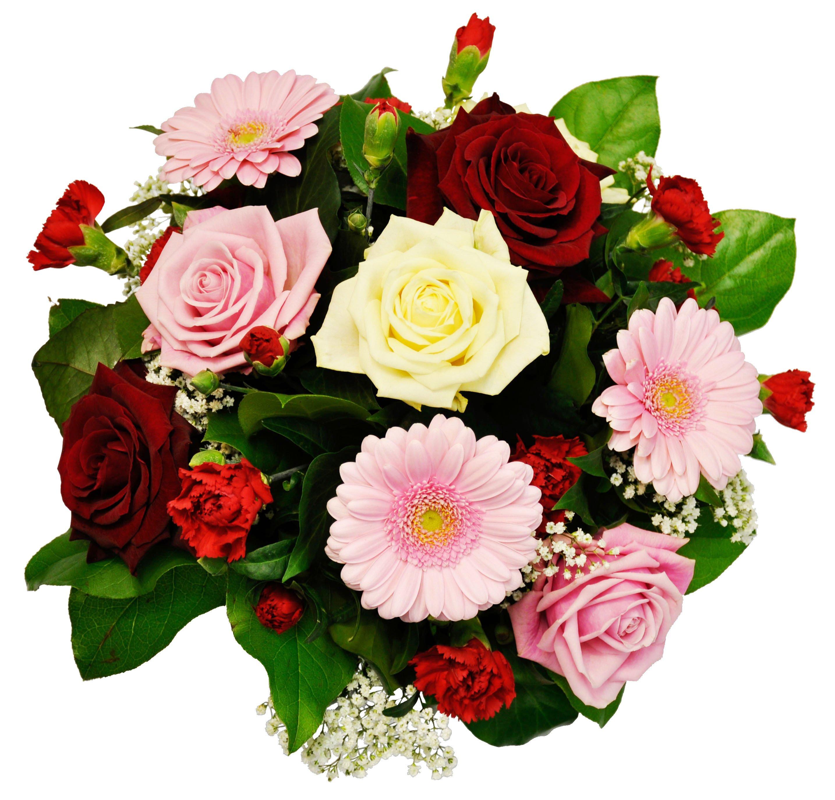 OMA003 Pink Gerbera Rose Bouquet (FLOWERP)