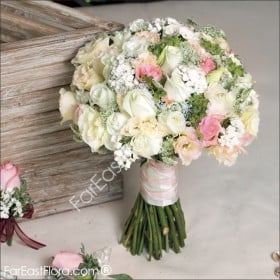Accentuated Beauty Bridal Bouquet